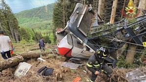 Queda de teleférico provocou 14 mortos
