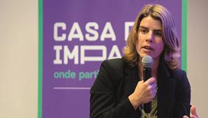 Inês Sequeira, diretora da Casa do Impacto