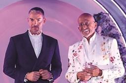Goucha e Cláudio Ramos apresentam o Big Brother