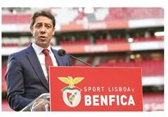 Rui Costa, presidente demissionário, acabou por propor o voto físico nas eleições do clube da Luz