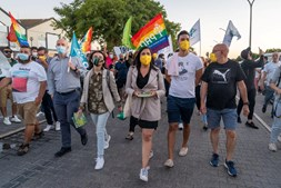Líder do PAN em campanha no Montijo, onde defendeu a reconversão da tourada