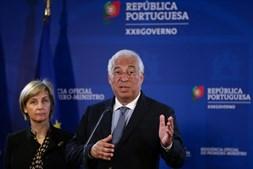António Costa e Marta Temido
