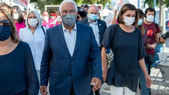 Cidadãos fazem queixa à CNE sobre utilização recorrente do PRR por Costa nos discursos de campanha