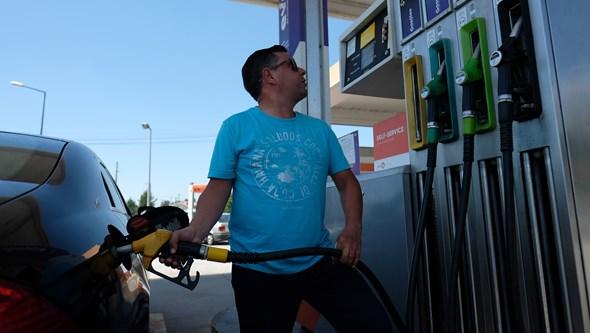 Gasolina 26 cêntimos mais cara desde janeiro