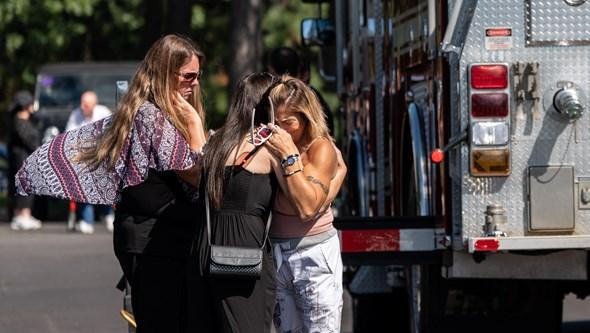 Lágrimas e emoção: As imagens do funeral e das homenagens a Gabby Petito