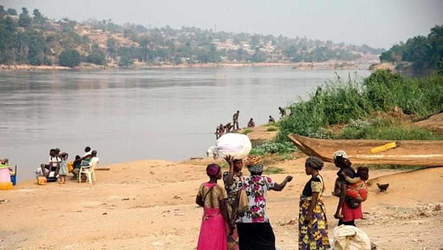 Rio Kasai, no Congo