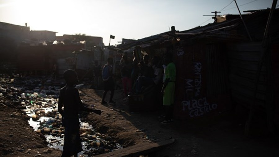 Crianças em Luanda