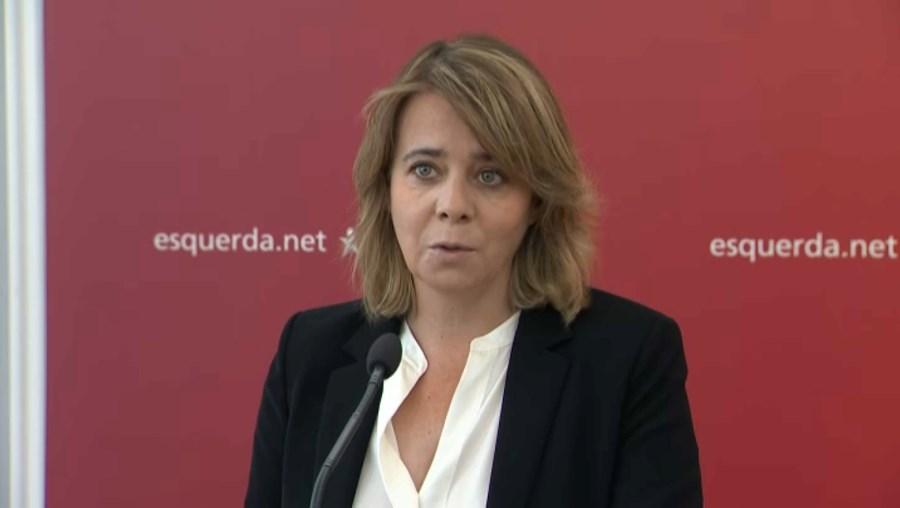 Catarina Martins recorda Jorge Sampaio