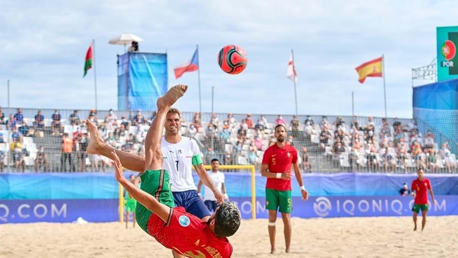 Portugal está na final da Liga Europeia de futsal