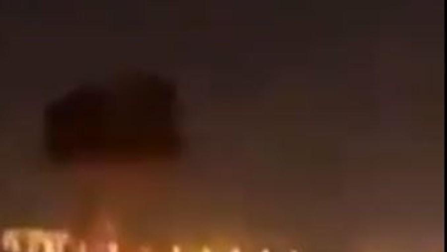 Explosões no Aeroporto Internacional deErbil no Curdistão iraquiano