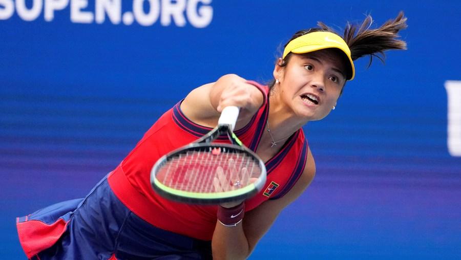 Emma Raducanu no torneio do US Open