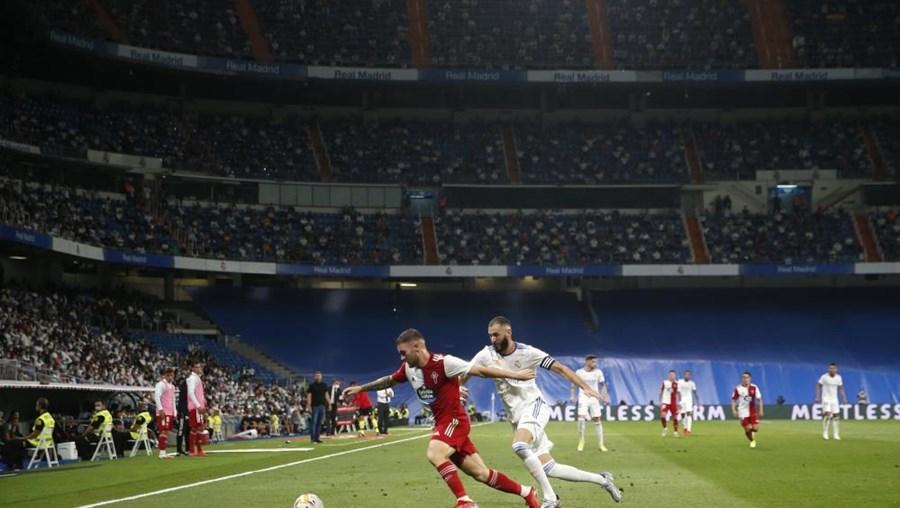 O Real Madrid vence na receção ao Celta de Vigo na quarta jornada da Liga espanhola de futebol