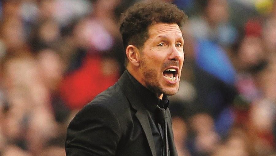 Diego Simeone é treinador do Atl. Madrid