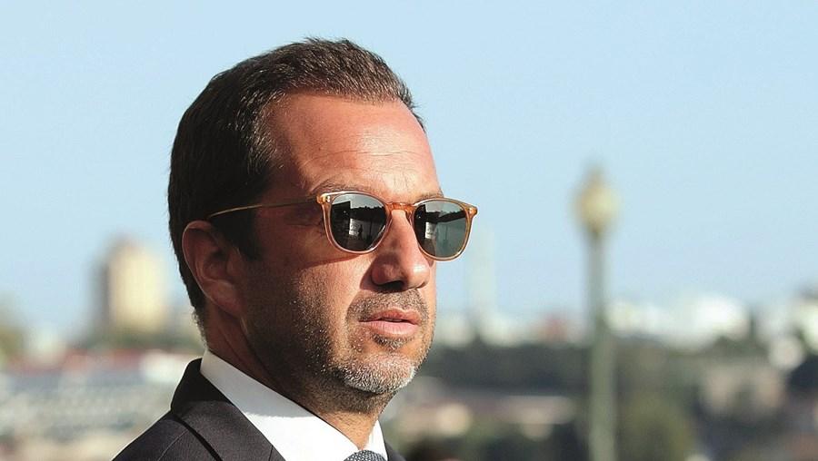 Frederico Varandas é presidente do Sporting desde 2018