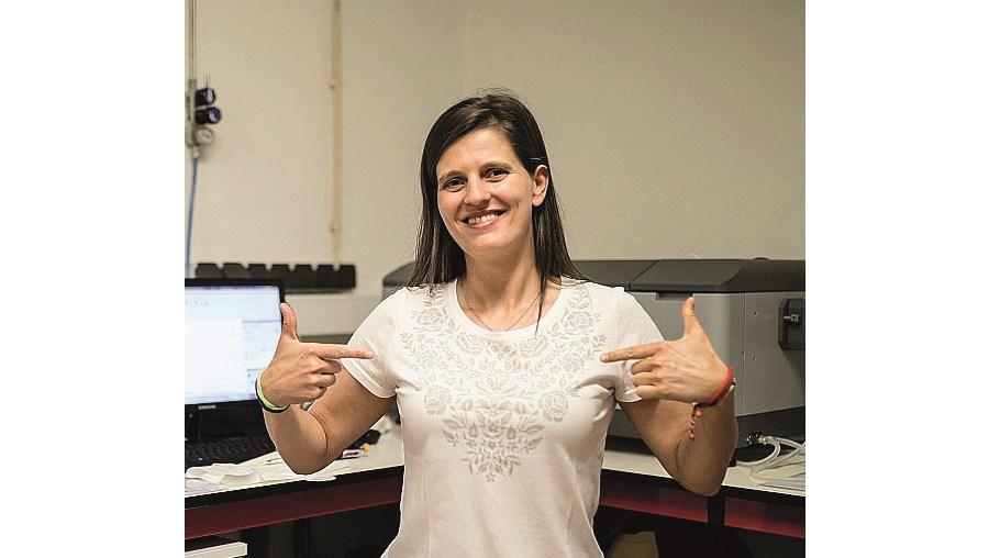 Filipa Fernandes inova com t-shirt