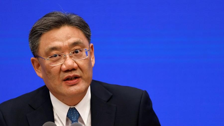 Ministro do Comércio chinês, Wang Wentao