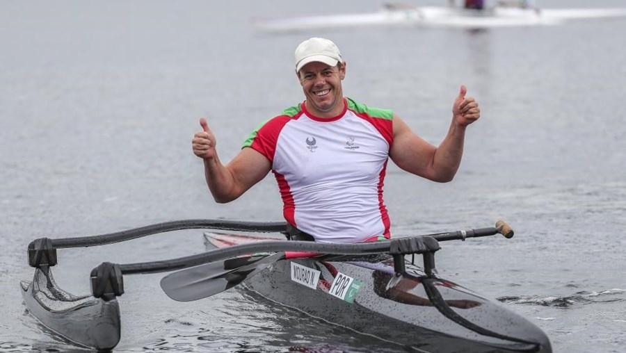 Norberto Mourão, atleta de canoagem adaptada