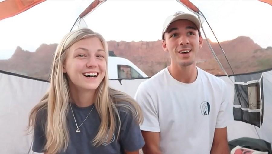 Gabby Petito e o namorado Brian Laundrie