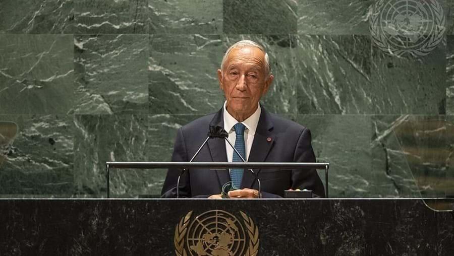 Marcelo Rebelo de Sousa na ONU