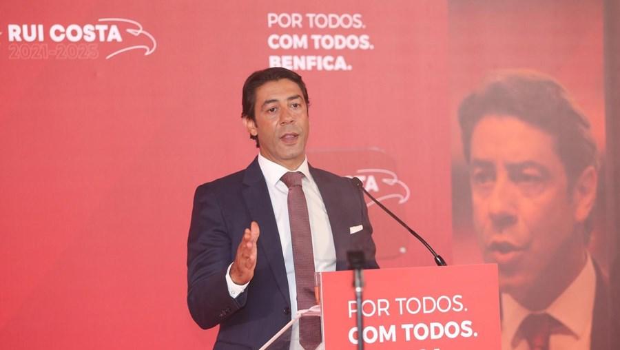 Apresentação da candidatura de Rui Costa à presidência do Benfica