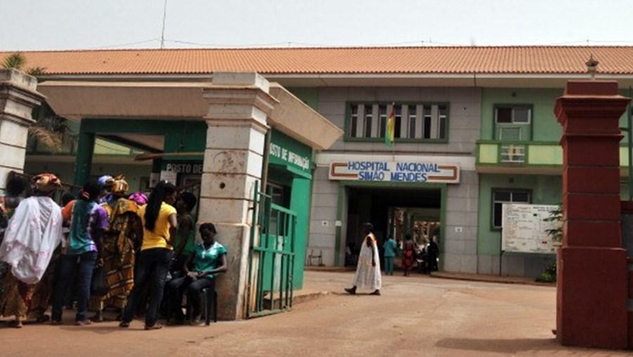 Hospital na Guiné-Bissau
