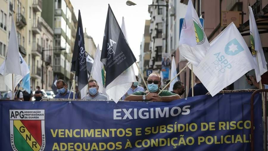 APG/GNR em protesto
