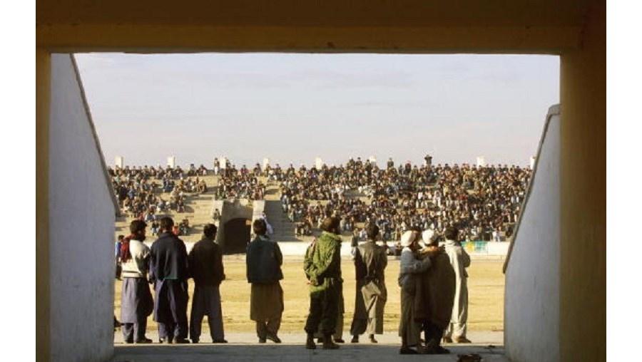 Execuções dos talibãs aconteciam em estádios
