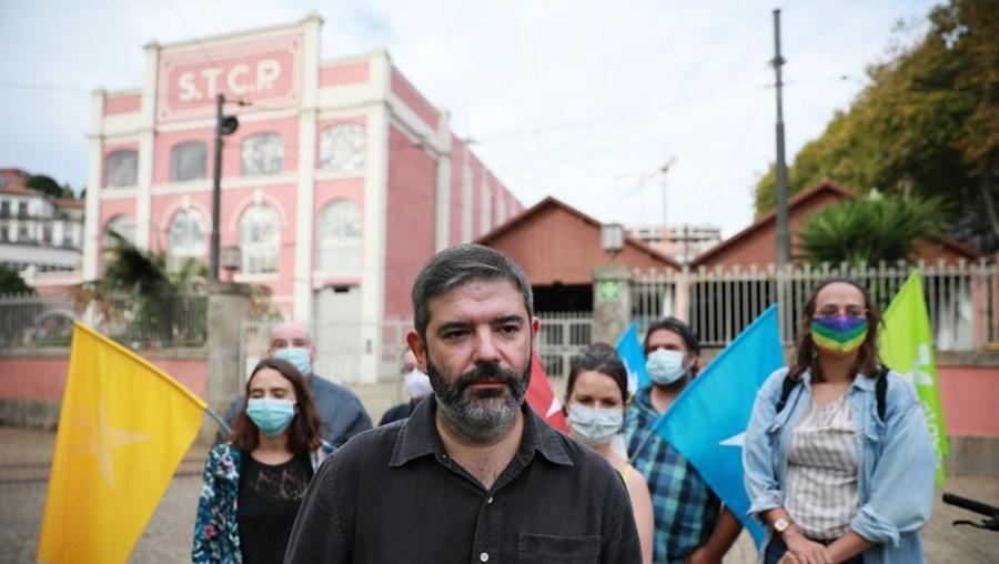 Sérgio Aires foi o candidato do Bloco de Esquerda à Câmara Municipal do Porto
