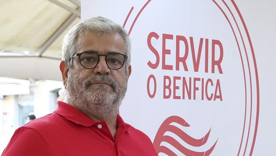 Francisco Benítez, candidato a presidente do Benfica do movimento Servir o Benfica