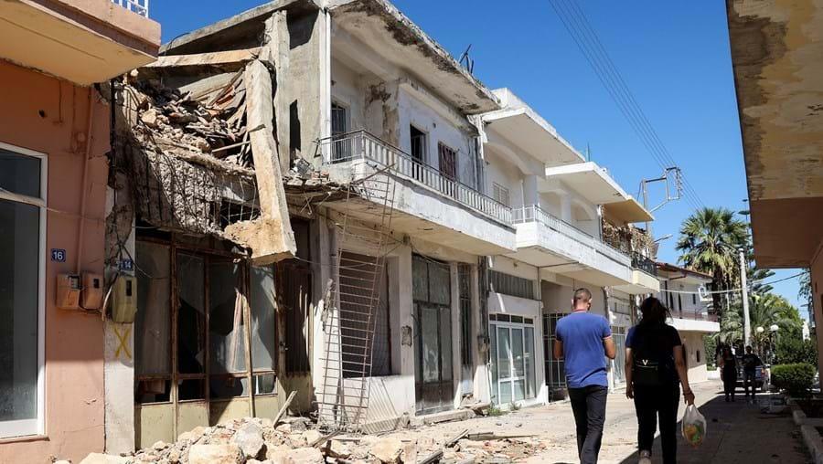 Novo sismo em Creta