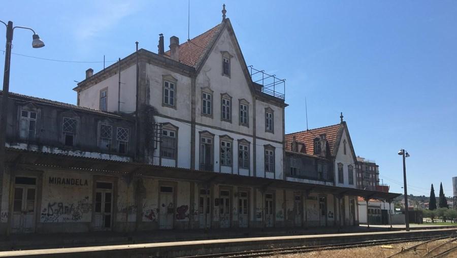 Estação abandonada de Mirandela