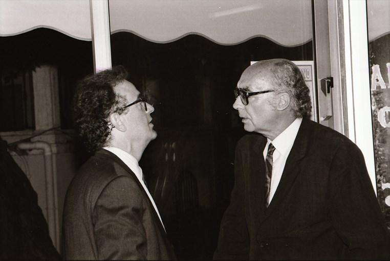 Jorge Sampaio e Saramago