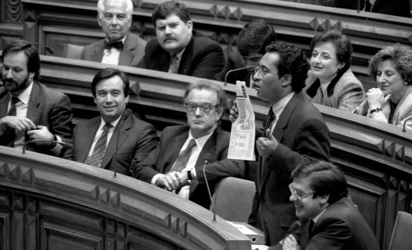 Jorge Sampaio, António Guterres e António Costa