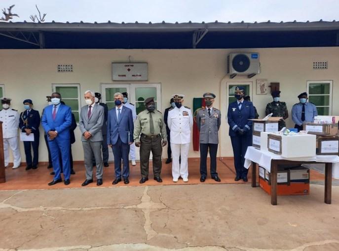Cerimónia alusiva à reabilitação do Centro de Saúde Militar