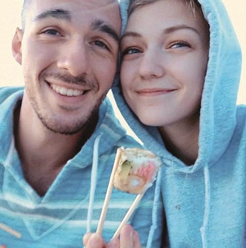 Brian e Gabby viajavam pelos EUA