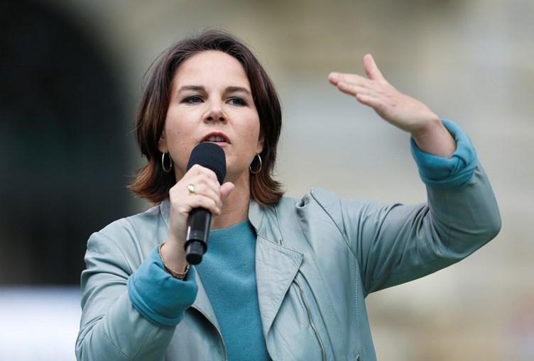 Annalena Baerbock quer levar os Verdes ao governo