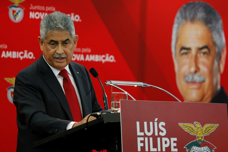 Luís Filipe Vieira , acionista do Grupo Promovalor