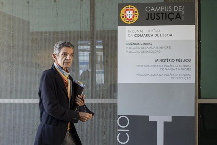 Manuel Maria Carrilho em tribunal