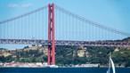 Retomada circulação de comboios na Ponte 25 de Abril em Lisboa