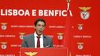 Rui Costa promete 'novo ciclo' no Benfica e deixa mensagem a Vieira no discurso de vitória