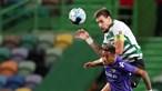 Coates subiu mais alto que a defesa do Moreirense e deu vitória ao Sporting