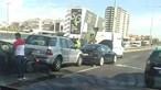 Trânsito parado na Segunda Circular junto ao Estádio de Alvalade