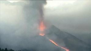 Dióxido de enxofre de vulcão de La Palma atinge Península Ibérica, revela o IPMA
