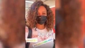 Milionária Isabel dos Santos mostra viagem em companhia aérea Low Cost