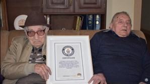 Morreu último dos irmãos centenários do livro do Guinness