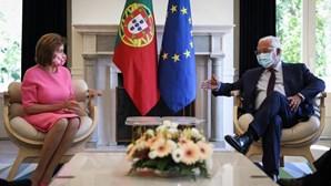 António Costa reúne com Nancy Pelosi em Lisboa