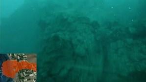 Imagens subaquáticas mostram lava no fundo do mar em La Palma