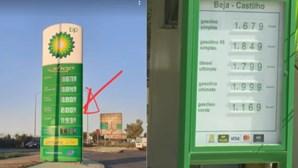 Gasolina aditivada supera 2 euros em vários postos de combustíveis