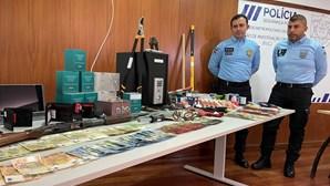 PSP trava gang que fez 34 assaltos a restaurantes e bombas de combustível no Norte e Centro do País