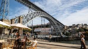Ponte Luís I, no Porto, em obras durante um ano